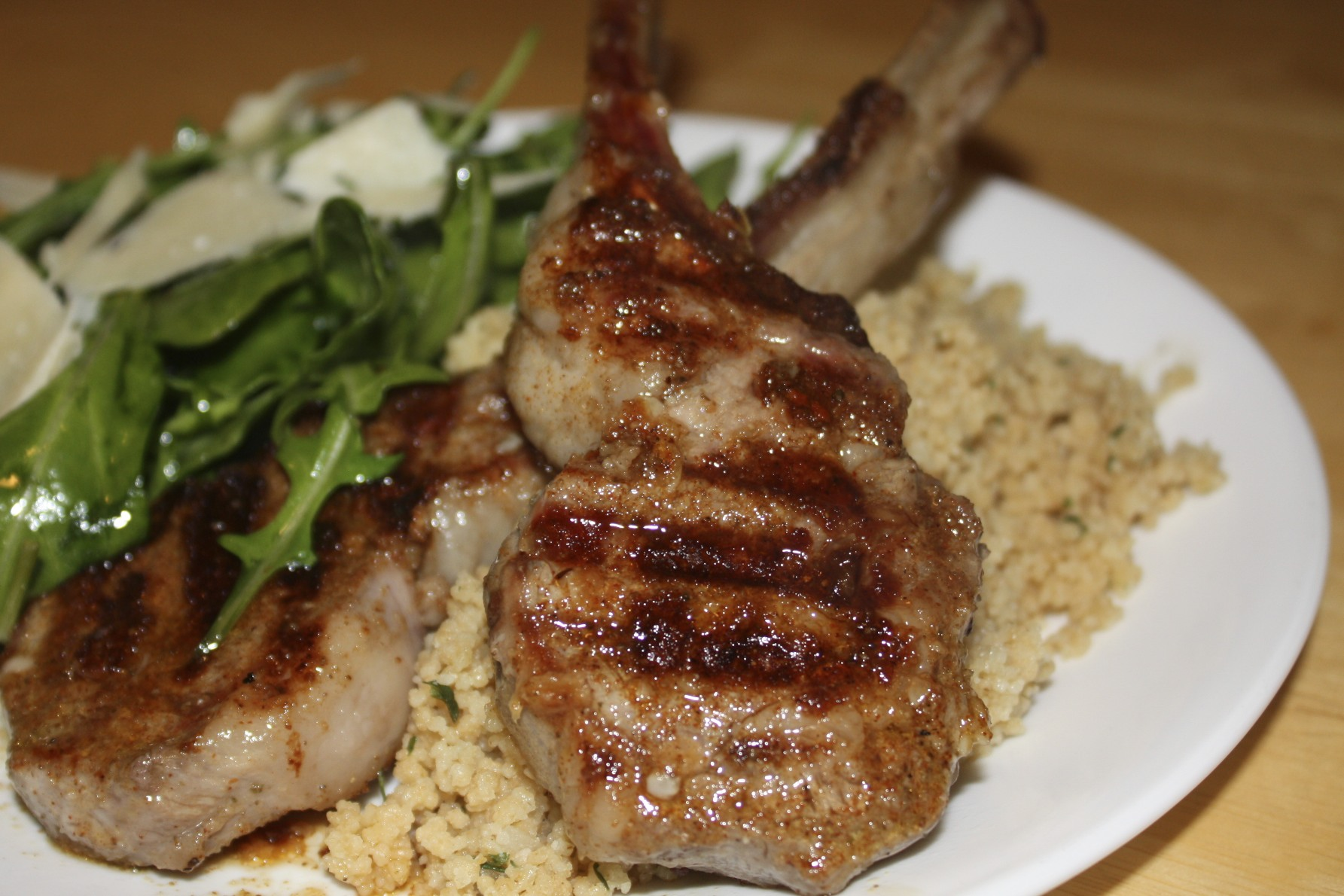 How to cook lamb on the grill